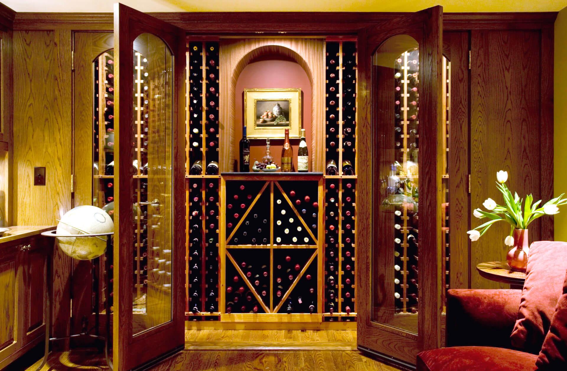 Basement Wine Cellar, Newton